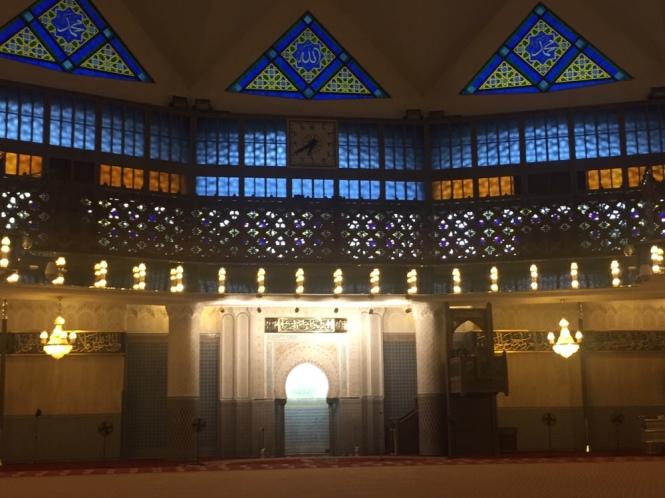 Inside Mesjid Negara